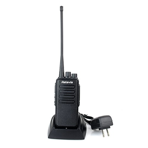 Retevis-RT1-2-Way-Radio-10W-70CM-UHF-400-520-MHz-16CH-VOX-Scrambler-Handheld-Transceiver-with-Earpiece-2-Pack-and-Speaker-Mic-2-Pack-0-0