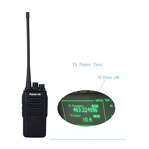 Retevis-RT1-2-Way-Radio-10W-70CM-UHF-400-520-MHz-16CH-VOX-Scrambler-Handheld-Transceiver-with-Earpiece-2-Pack-and-Speaker-Mic-2-Pack-0-1