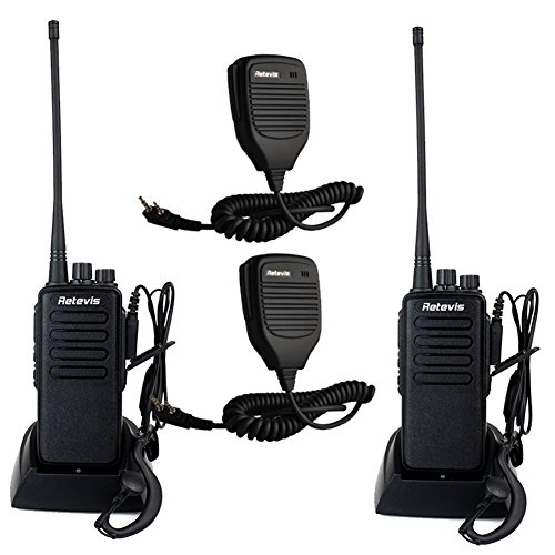 Retevis-RT1-2-Way-Radio-10W-70CM-UHF-400-520-MHz-16CH-VOX-Scrambler-Handheld-Transceiver-with-Earpiece-2-Pack-and-Speaker-Mic-2-Pack-0