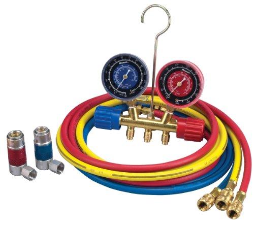 Robinair-45111-R134a-Brass-Manifold-Hose-Kit-0