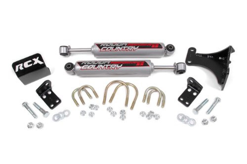 Rough-Country-87349-Dual-Steering-Stabilizer-Kit-0