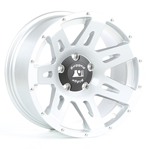 Rugged-Ridge-0-XHD-Satin-Wheel-with-Machined-Lip-for-Select-Jeep-Wrangler-JK-Models-0