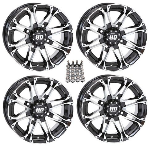 STI-HD3-ATV-WheelsRims-Machined-14-Polaris-Sportsman-XP-550-850-4-0