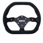 Sparco-015P310F2SN-Suede-Steering-Wheel-0