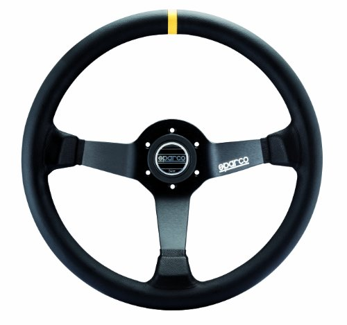 Sparco-015R325CLN-Leather-Steering-Wheel-0