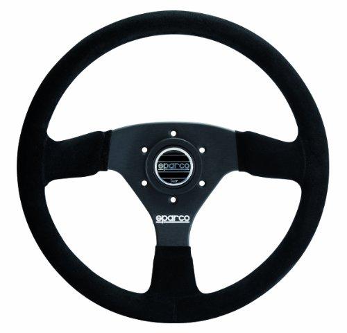 Sparco-015R333PSNO-Suede-Steering-Wheel-0