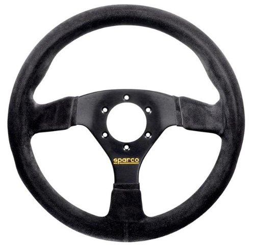 Sparco-015R383PSN-Suede-Steering-Wheel-0