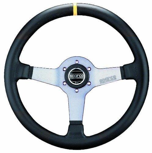 Sparco-015TMZA7-Monza-Suede-Steering-Wheel-0