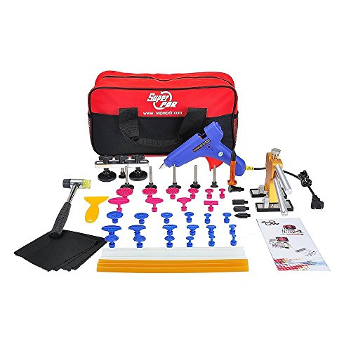 Super-PDR-40pcs-Dent-Removel-Paintless-Dent-Repair-PDR-Tools-Rubber-Hammer-Dent-Lifter-Glue-Gun-Glue-Sticks-Pro-Tabs-tap-Down-0