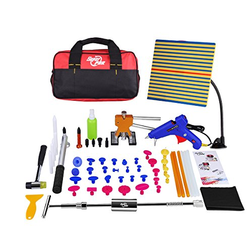 Super-PDR-51pcs-NEW-Auto-CAR-Body-Restore-Tool-Paintless-Dent-Repair-Tools-PDR-Puller-Gold-Dent-Lifter-Puller-Tabs-Red-Glue-Sticks-0