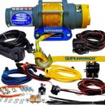 Superwinch-1145230-Terra-45-4500lbs2046kg-single-line-pull-with-hawse-handlebar-mnt-toggle-handheld-remote-and-synthetic-rope-0-0