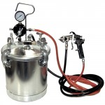 TCP-Global-Pressure-Tank-Paint-Spray-Gun-with-15-Mm-Nozzle-2-12-Gal-Pressure-Pot-Spray-Gun-with-Hoses-0-0