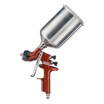 TEKNA-703676-Copper-12mm13mm-Fluid-Tip-High-Efficiency-Spray-Gun-with-900cc-Aluminum-Cup-and-7E7-Air-Cap-0