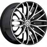 TIS-22×9-Gloss-Black-537MB-Wheels-5×115-5×120-20-Offset-0