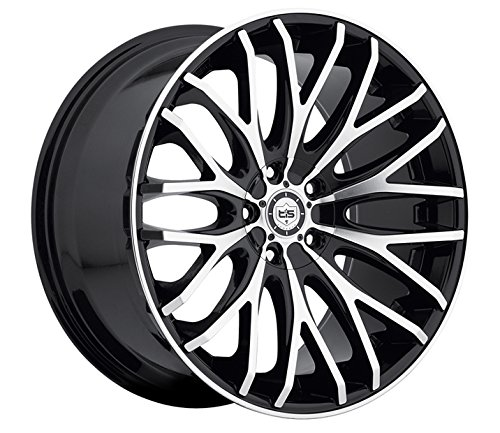 TIS-22×9-Gloss-Black-537MB-Wheels-5×115-5×120-20-Offset-0