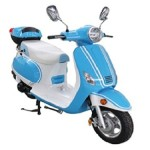 TaoTao-ROMAN-150-Gas-Street-Legal-Scooter-Blue-0