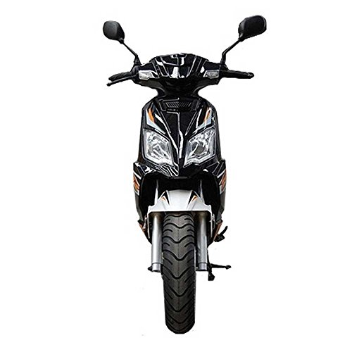 TaoTao-Thunder-50-Gas-Street-Legal-Scooter-Black-0-1