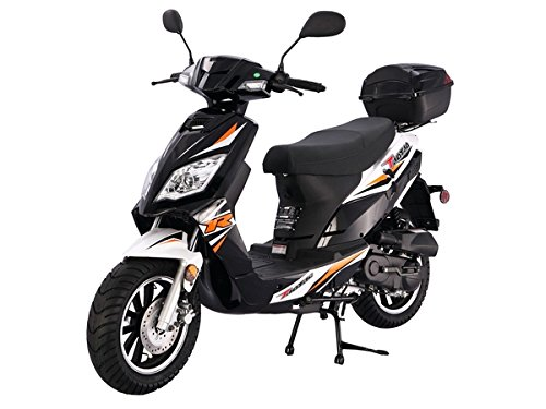 TaoTao-Thunder-50-Gas-Street-Legal-Scooter-Black-0