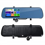 ToguardTM-5-Touch-Screen-Android-Parking-Display-Car-Dash-Cam-Dashboard-Camera-Dual-lens-DVR-GPS-Navigation-WiFi-Rearview-Mirror-Night-vision-G-sensor-Motion-Detection-0-0