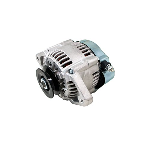 Top-Street-Performance-ES1004-Satin-Finish-90-Amp-Racing-Alternator-1-Wire-0-0