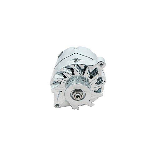 Top-Street-Performance-ES1031C-Chrome-110-Amp-Alternator-with-1-WireV-Belt-0-0