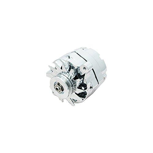 Top-Street-Performance-ES1031C-Chrome-110-Amp-Alternator-with-1-WireV-Belt-0