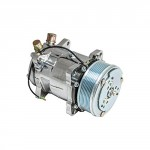 Top-Street-Performance-HC5004C-AC-Compressor-with-Silver-Clutch-Chromed-Serpentine-Belt-Sanden-508-R134A-Type-0-1