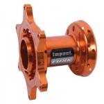Tusk-Impact-Motorcycle-Hub-Front-Orange-Fits-Husqvarna-TE-300-2014-0