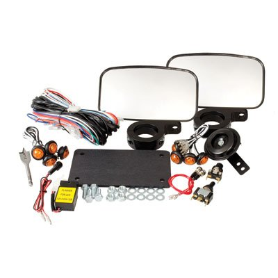 Tusk-UTV-Horn-Signal-Kit-With-Mirrors-Fits-Polaris-RANGER-RZR-XP-900-2011-2014-0