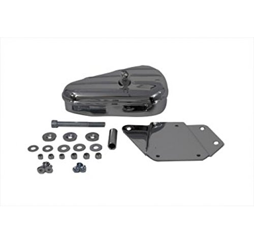 V-Twin-50-0604-Chrome-Right-Side-Tool-Box-and-Mount-Kit-0