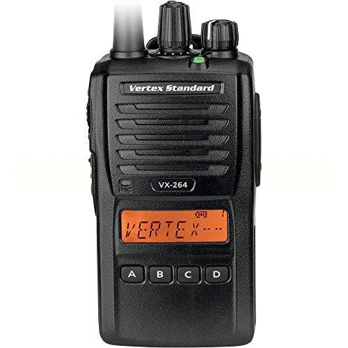 Vertex-Standard-Original-VX-264-G7-5-UHF-450-512-MHz-Handheld-Two-way-Transceiver-5-Watts-128-Channels8-Groups-with-Display-3-Year-Warranty-0