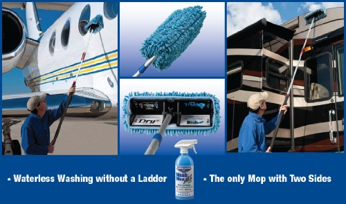 Waterless-RV-Aircraft-Boat-Wax-Mop-Kit-with-Bug-Scrubber-Mini-Mop-0-0