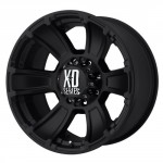 XD-Series-by-KMC-Wheels-XD796-Revolver-Matte-Black-Wheel-18x98x170mm-12mm-offset-0