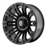 XD-Series-by-KMC-Wheels-XD810-Brigade-Satin-Black-Wheel-20x108x170mm-24mm-offset-0
