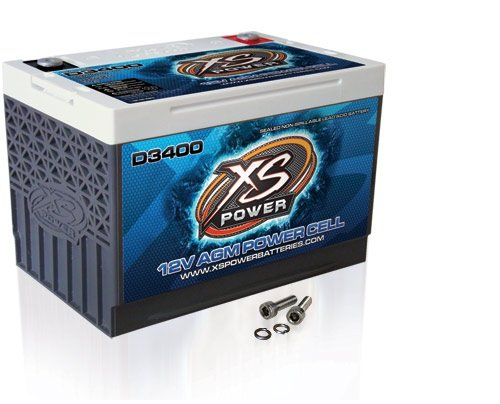 XS-Power-D3400-XS-Series-12V-3300-Amp-AGM-High-Output-Battery-with-M6-Terminal-Bolt-0