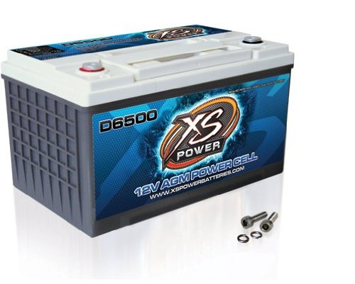 XS-Power-D6500-XS-Series-12V-3900-Amp-AGM-High-Output-Battery-with-M6-Terminal-Bolt-0