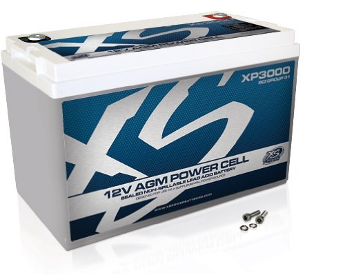 XS-Power-XP3000-XP-Series-12V-3000-Amp-AGM-Supplemental-Battery-with-M6-Terminal-Bolt-0