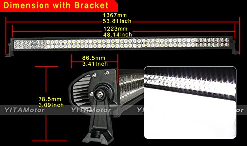 YITAMOTOR-1X-5452-inch-300W-LED-Light-Bar-Mounting-Brackets-For-Jeep-JK-Wrangler-Wiring-Kit-0-1
