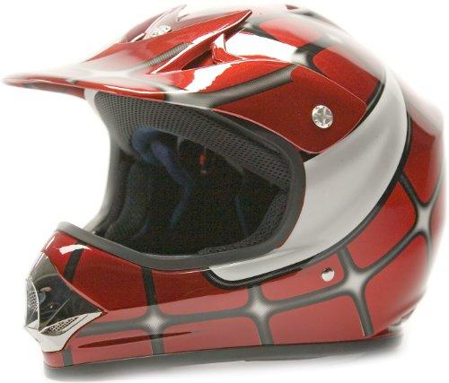 Youth-Offroad-Gear-Combo-Helmet-Gloves-Goggles-DOT-Motocross-ATV-Dirt-Bike-MX-Spiderman-Red-0-0