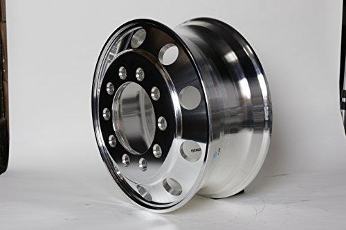 A228204 Aluminum Wheels 22 5 X 8 25 Stub Pilot Budd Pcd