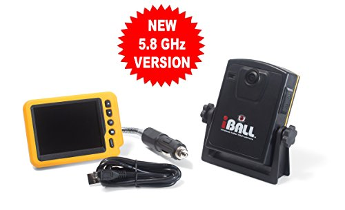 iBall-58GHz-Wireless-Magnetic-Trailer-Hitch-Car-Truck-Rear-View-Camera-LCD-Monitor-0