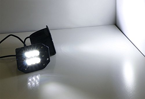 iJDMTOY-2-Dually-Flush-Mount-24W-CREE-LED-Pod-Lights-For-Truck-Jeep-Off-Road-ATV-4WD-4×4-etc-0-1