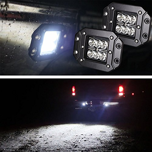 iJDMTOY-2-Dually-Flush-Mount-24W-CREE-LED-Pod-Lights-For-Truck-Jeep-Off-Road-ATV-4WD-4×4-etc-0