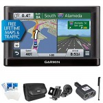 nuvi-56LMT-Essential-Series-GPS-Nav-w-Lifetime-Maps-Traffic-Ultimate-Bundle-Includes-GPS-Car-Windshield-Mount-Holder-International-2-Socket-Cigarette-Lighter-Adapter-Deluxe-Carrying-Case-Touch-Screen–0