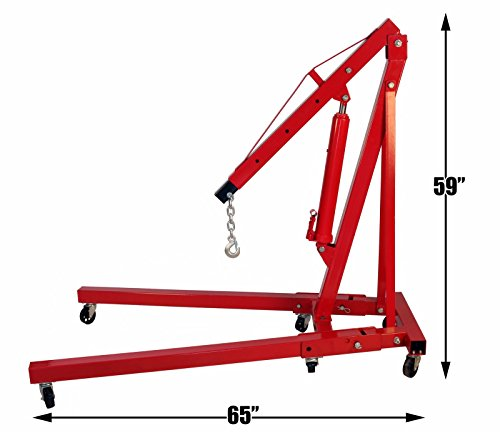 2-Ton-Foldable-Engine-Hoist-Cherry-Picker-Shop-Crane-Jack-Lift-8-Ton-Hand-Pump-Hydraulic-Ram-0-1