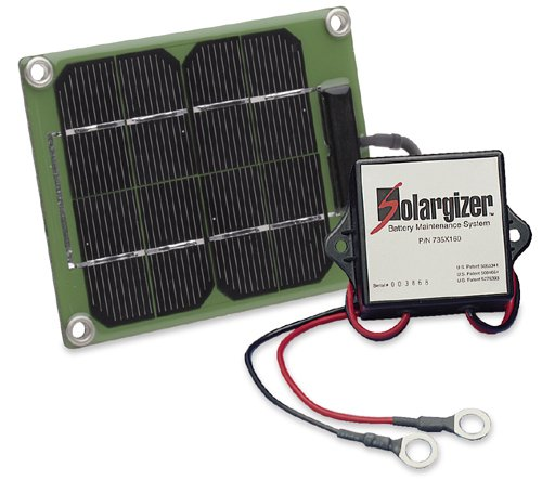 24-Volt-Solargizer-Model-150-Battery-maintenance-for-all-battery-systems-up-to-24-volts-Mounting-kit-included-for-easy-installationEliminates-sulphur-from-lead-plates-and-trickle-charges-all-lead-acid-0