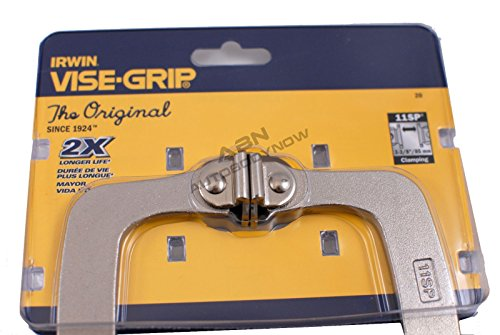 5-Pack-Irwin-20-Vise-Grip-11SP-11-Locking-C-Clamps-with-Swivel-Pads-0-1
