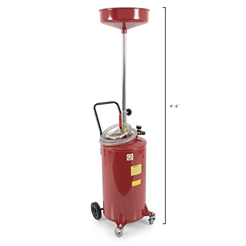 ARKSEN-20-Gallon-Portable-Waste-Oil-Drain-Tank-Air-Operated-0-0