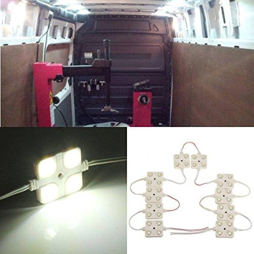 AUDEW-40-LED-White-Interior-Light-Kit-For-LWB-Van-Lorries-Sprinter-Ducato-Transit-VW-0-0