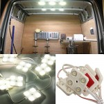 AUDEW-40-LED-White-Interior-Light-Kit-For-LWB-Van-Lorries-Sprinter-Ducato-Transit-VW-0